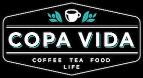 Copa Vida Black & White Logo